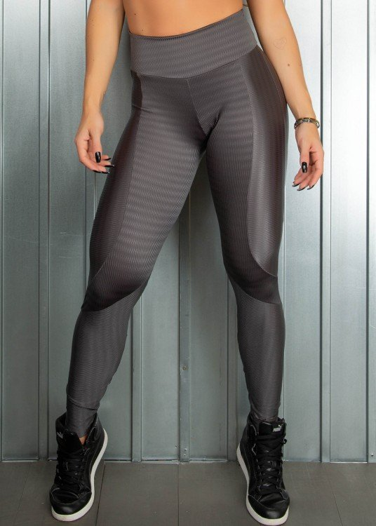 Legging Fitness Wonder Cinza