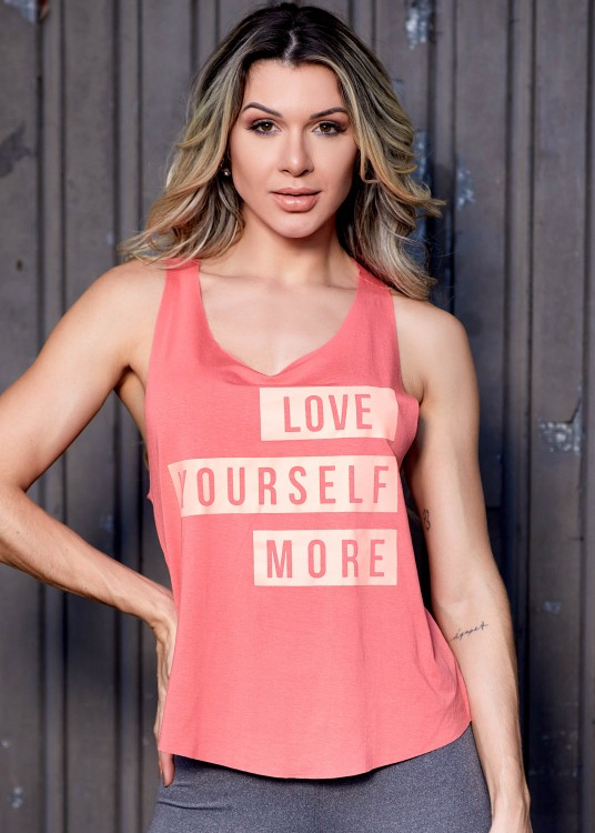 Regata Fitness Cavada Love Yourself Coral