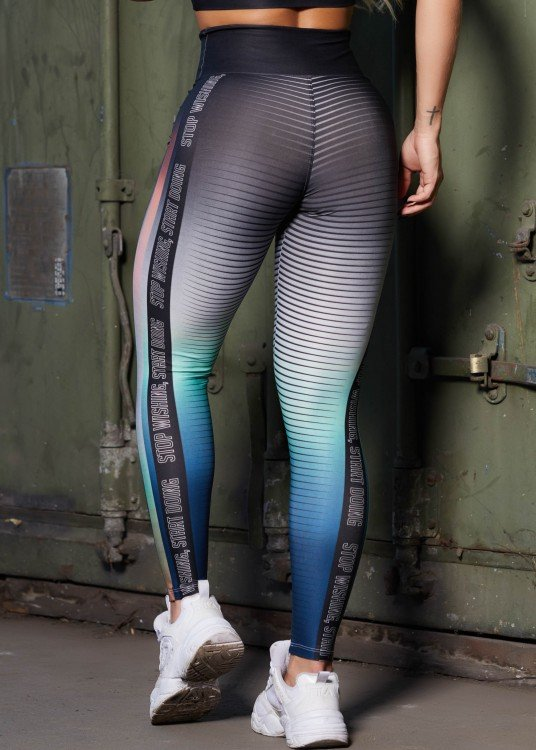 Calça Legging Sublimada Start Doing