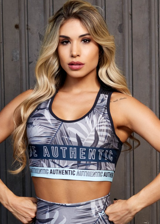 Top Fitness Sublimado Be Authentic