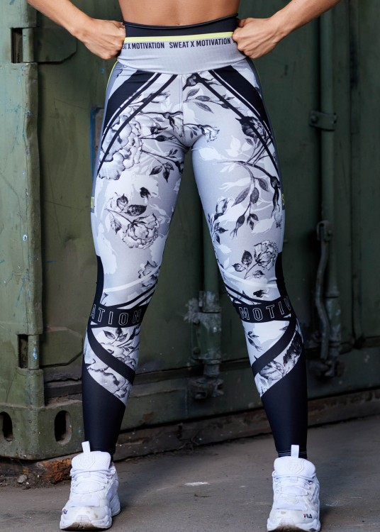 Calça Legging Sublimada Sweat x Motivation