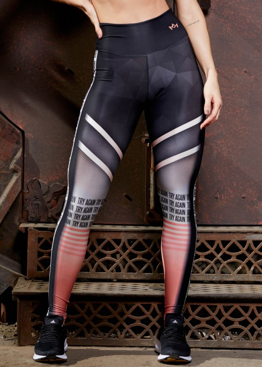 Calça Legging Sublimada Try Again